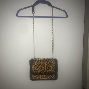 Women's j crew cheetah handbag